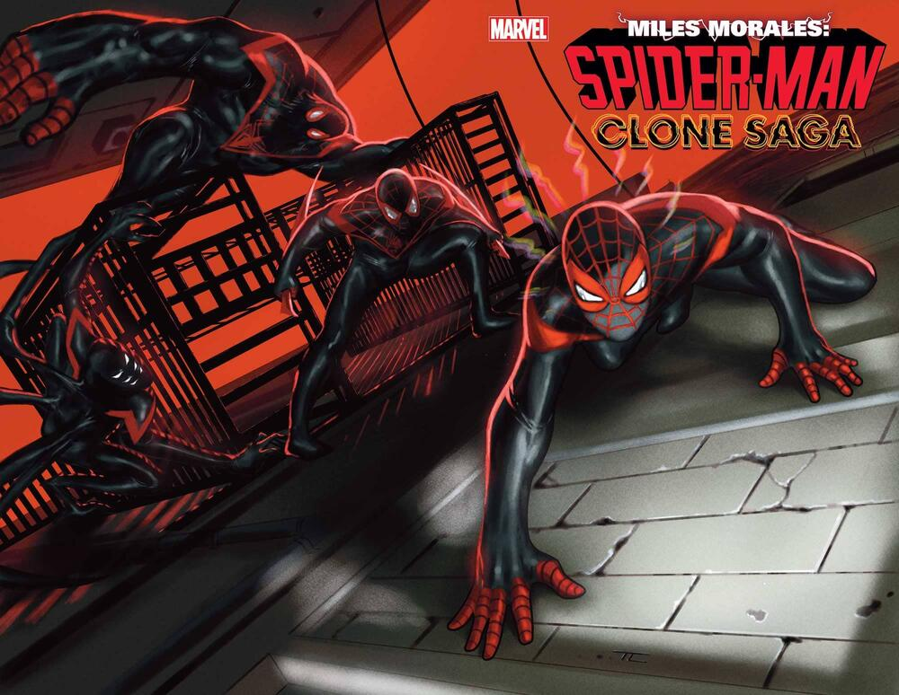 MILES MORALES: SPIDER-MAN #25, the Clone Saga