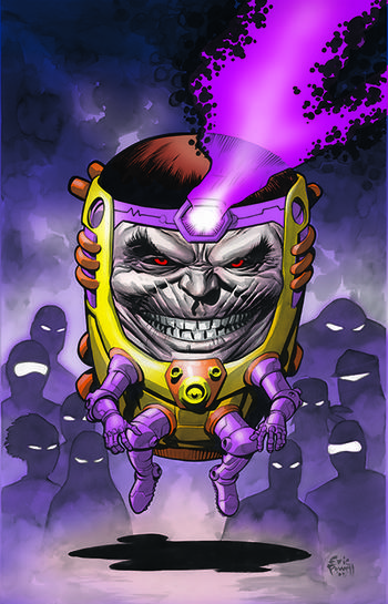 M.O.D.O.K., as seen in Marvel Comics