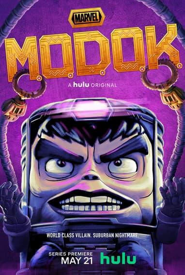 Marvel's M.O.D.O.K. Hulu TV Show Season 1 Poster