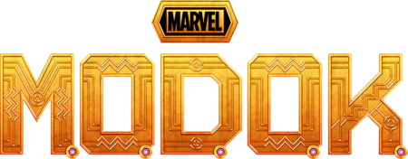 Marvel's M.O.D.O.K. Hulu TV Show Season 1 Logo