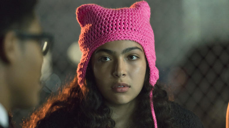 Allegra Acosta as Molly Hernandez in 'Marvel's Runaways'