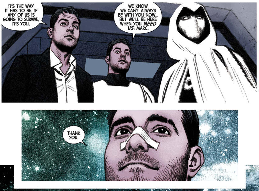 Moon Knight Multiple Personalities
