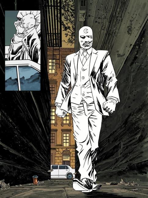 Meet Mr. Knight in MOON KNIGHT (2014) #1.