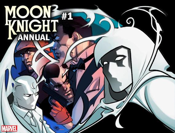 MOON KNIGHT ANNUAL 1 FERRY IMMORTAL VARIANT