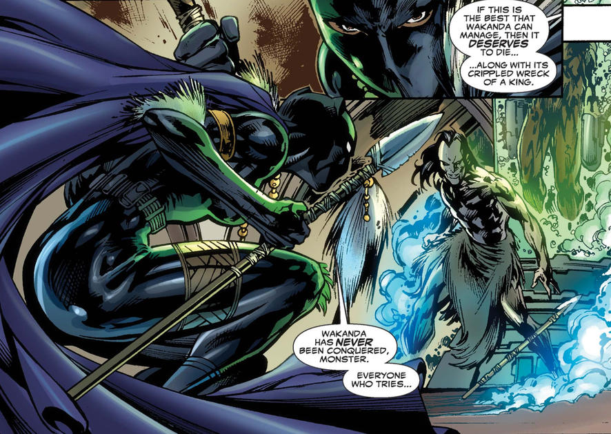 Morlun faces Black Panther Shuri