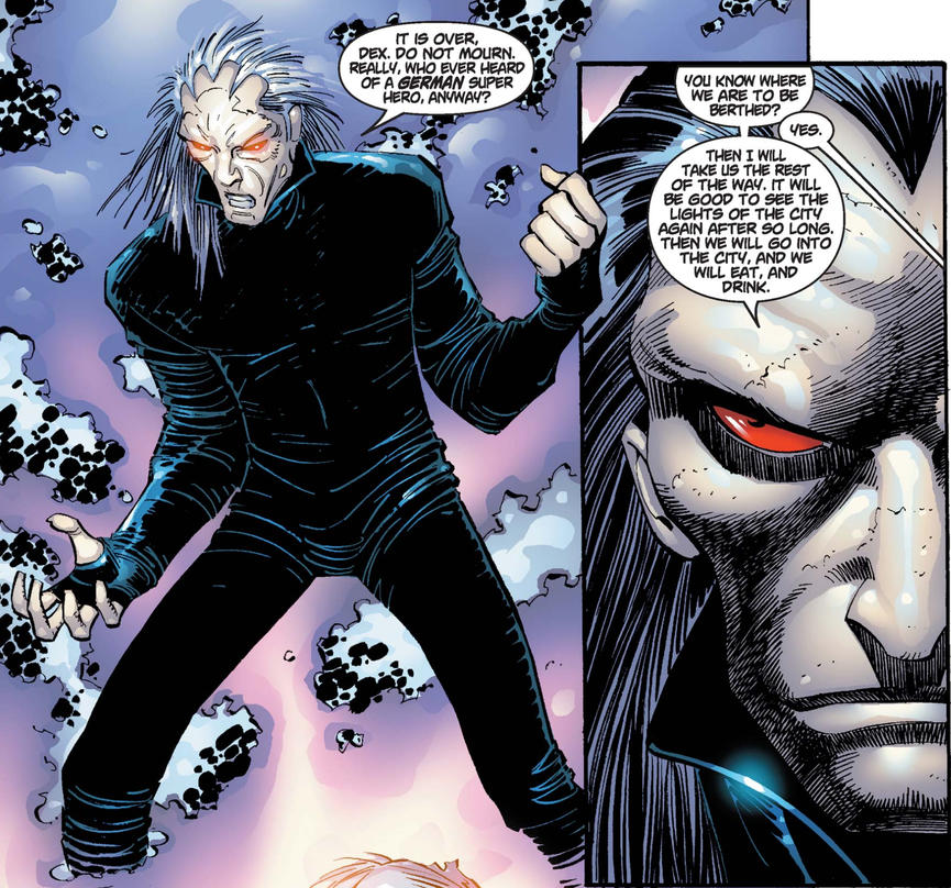 Morlun, the Inheritors