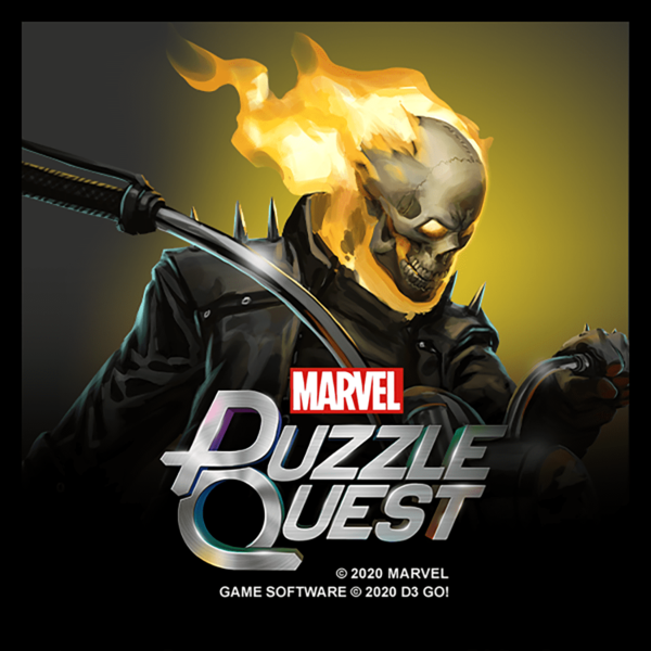 Marvel Insider Marvel Puzzle Quest Johnny Blaze Bundle