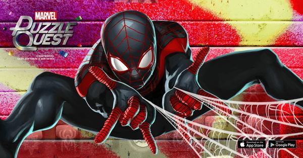 Marvel Puzzle Quest - Miles Morales Spider-Man