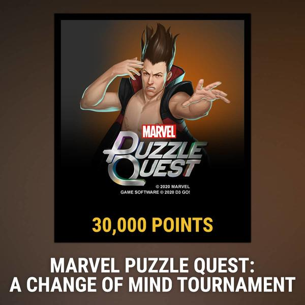 Marvel Insider MARVEL Puzzle Quest A Change of Mind Tournament