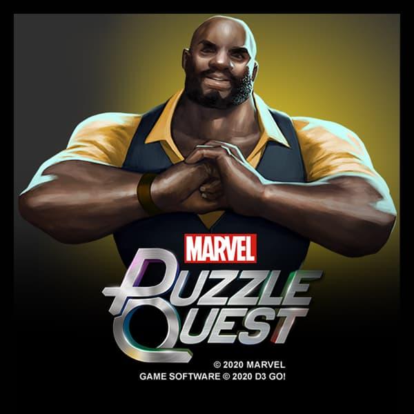 Marvel Insider Featured Rewards Marvel Puzzle Quest 4-Star Luke Cage (Power Man) Bundle