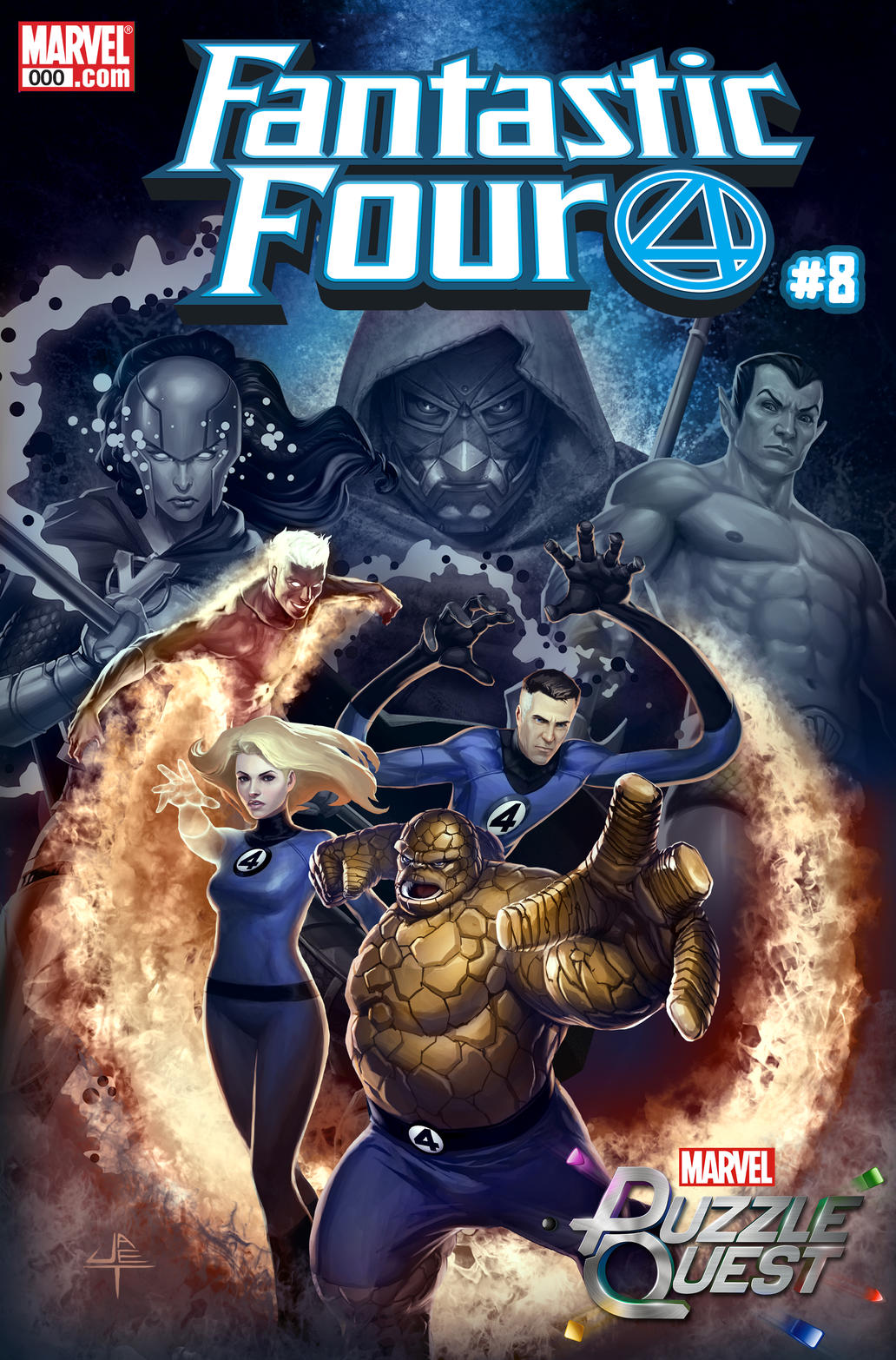 Marvel Puzzle Quest (FANTASTIC FOUR #8)