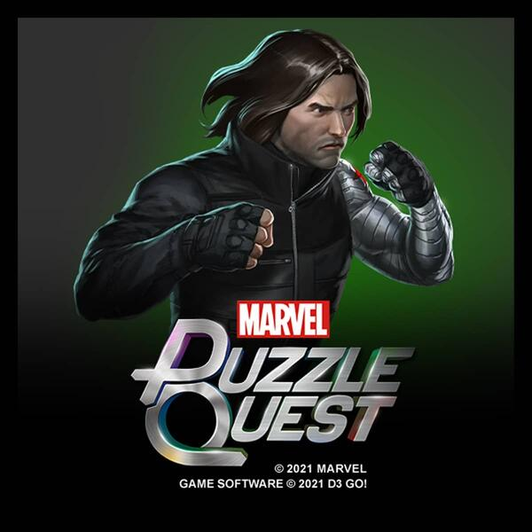 Bucky Barnes Puzzle Quest Character
