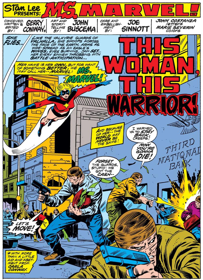 Ms. Marvel's debut