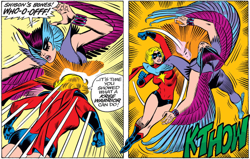 Ms. Marvel vs Deathbird