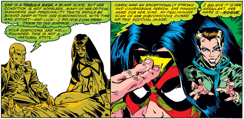 Spider-Woman discovers Rogue attacked Ms. Marvel