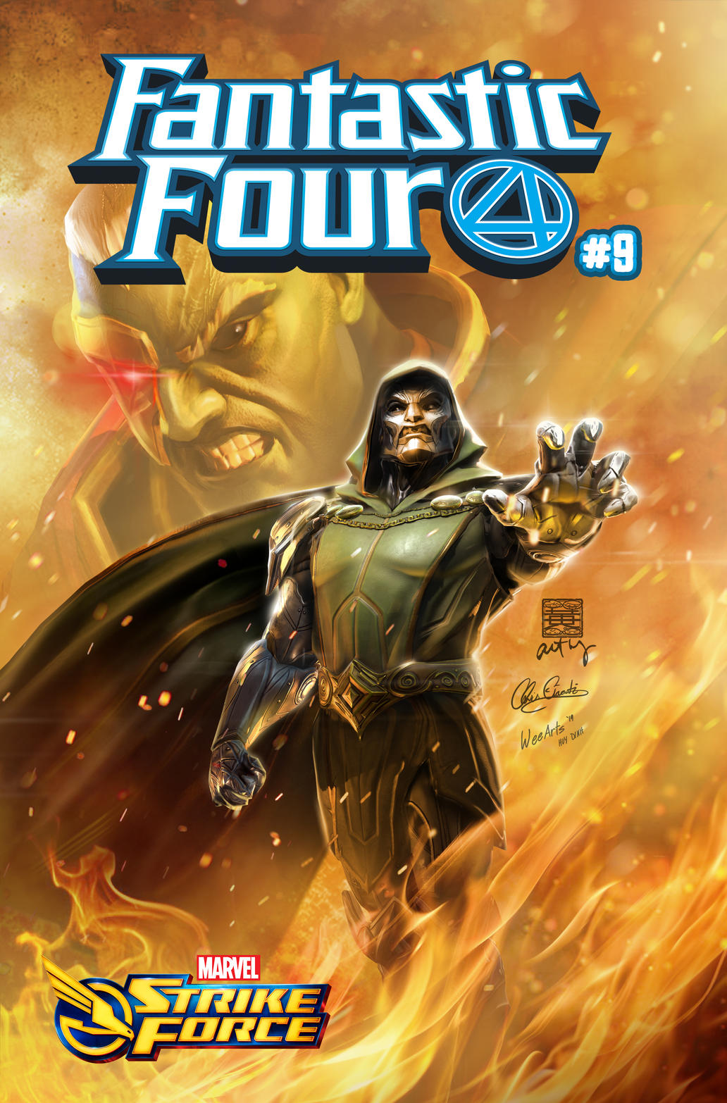 Marvel Strike Force (FANTASTIC FOUR #9)