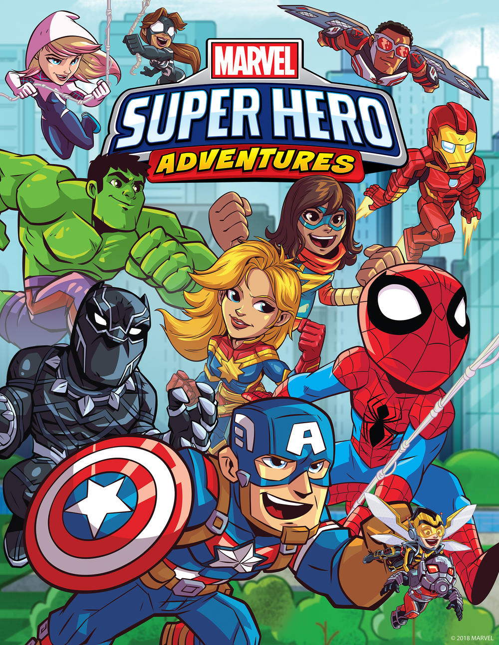 Marvel Super Hero Adventures Season 2 Poster