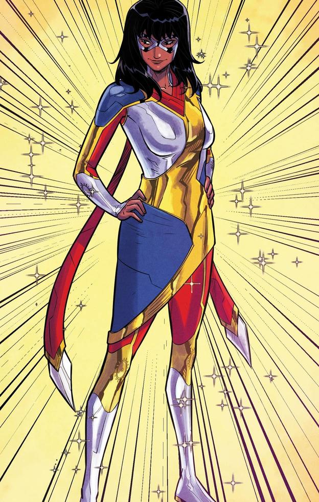 MAGNIFICENT MS. MARVEL #7 interior art by Joey Vasquez with colors by Ian Herring