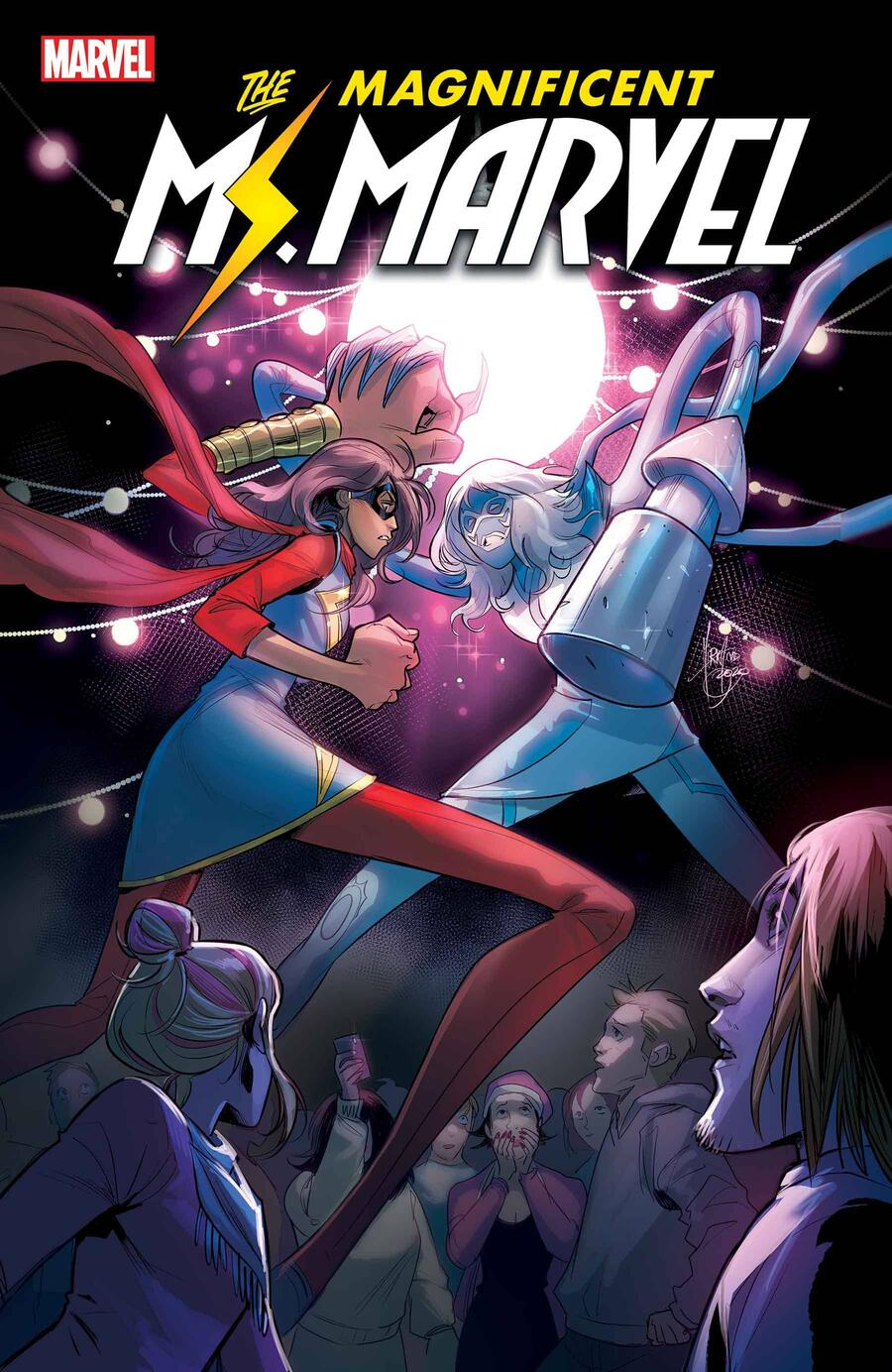 MAGNIFICENT MS. MARVEL #18 cover by Mirka Andolfo