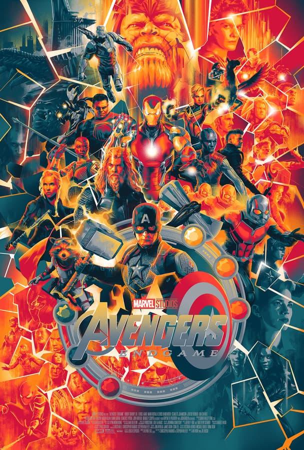 Avengers: Endgame Mondo Poster
