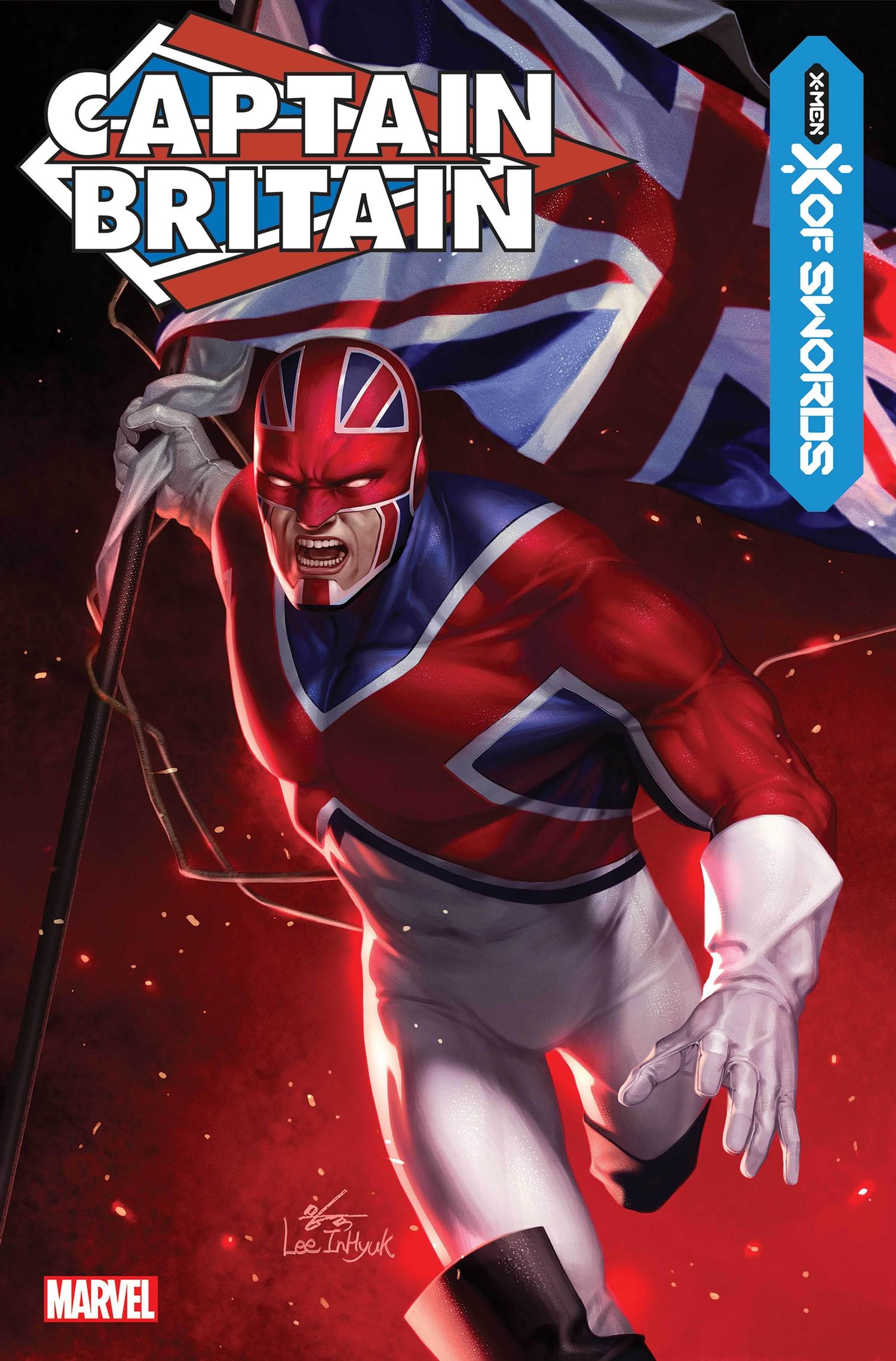 CAPTAIN BRITAIN: MARVEL TALES #1WRITTEN BY CHRIS CLAREMONT;ART BY HERB TRIMPE, JOHN BYRNE & ALAN DAVIS;COVER BY INHYUK LEE