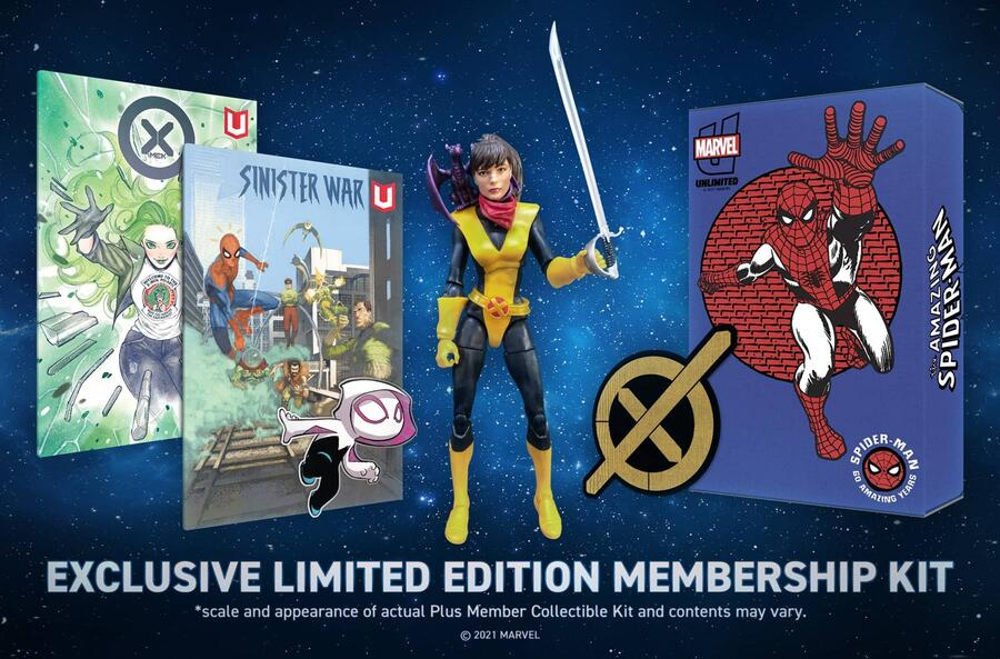 The Marvel Unlimited Plus Kit from 2021!