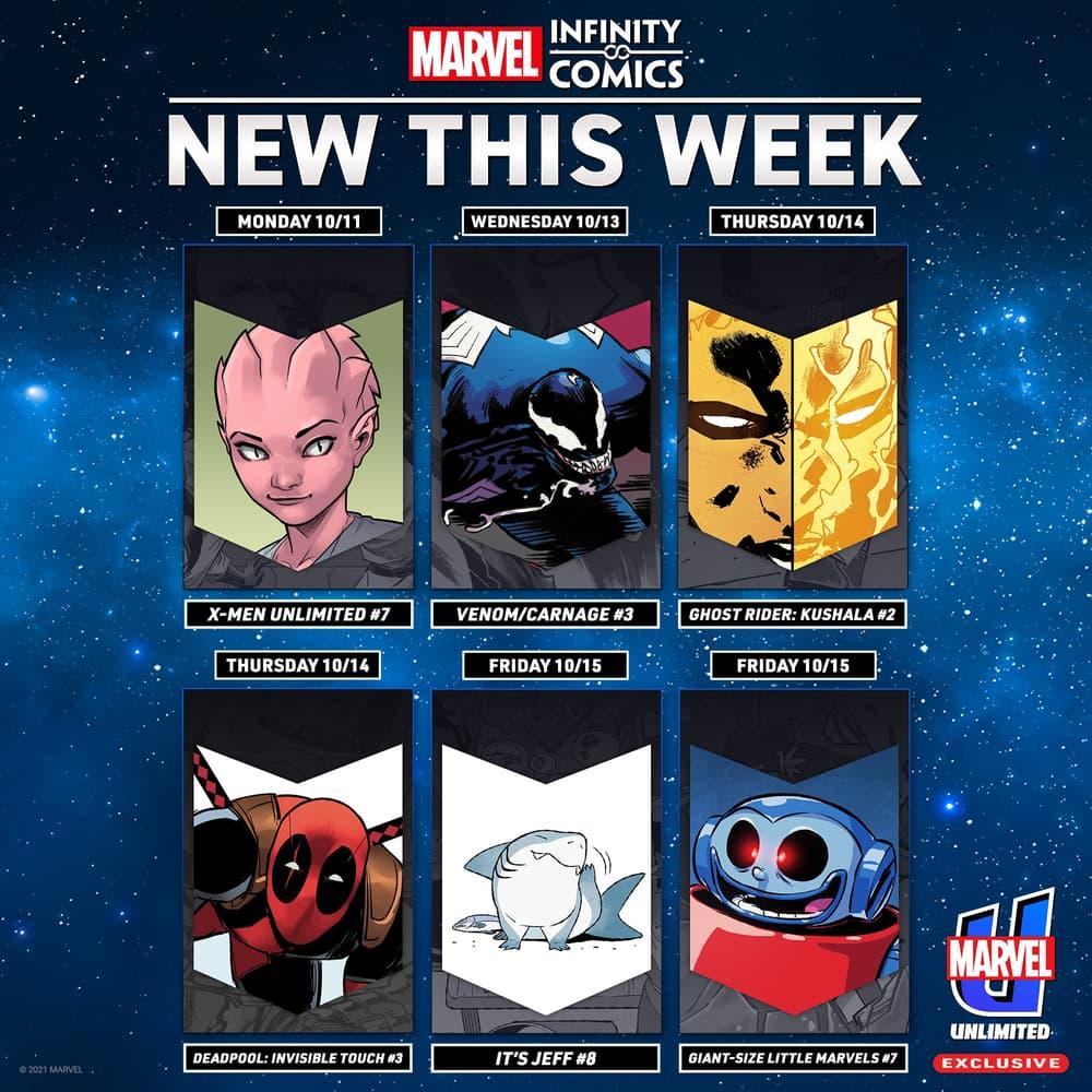 This Week's Infinity Comics