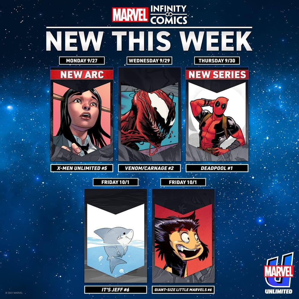 New Infinity Comics this week