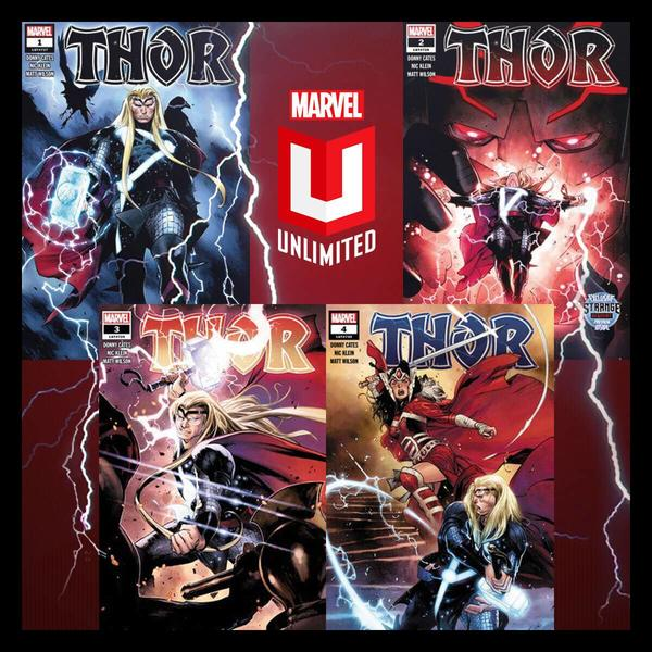 Marvel Insider Marvel Unlimited Reading Challenge Read THOR (2020) #1-4