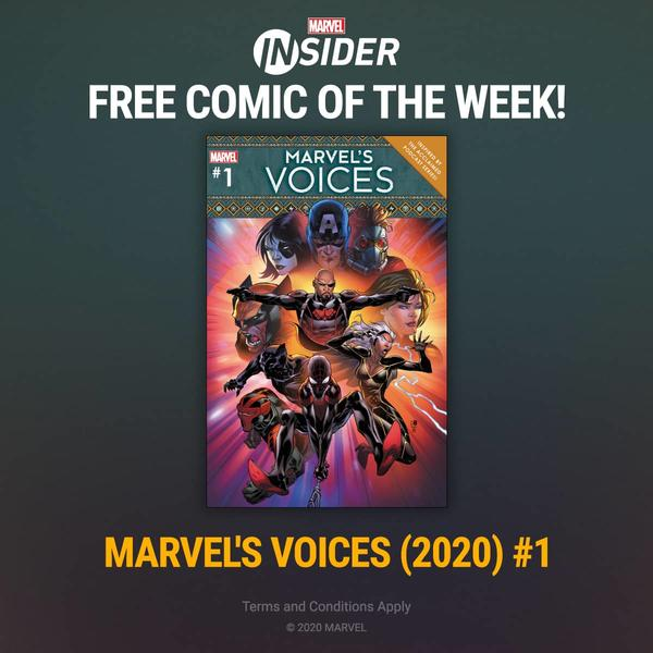 Marvel Insider MARVEL'S VOICES (2020) #1