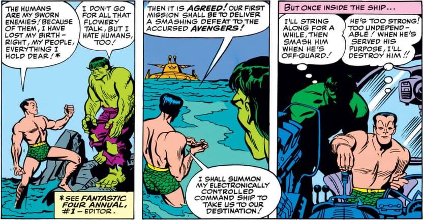 Bamor vs Avengers