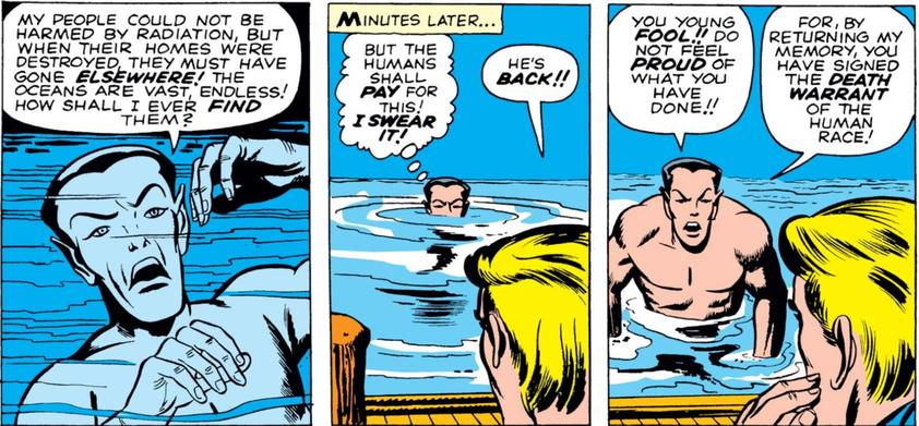 Namor vs. Fantastic Four