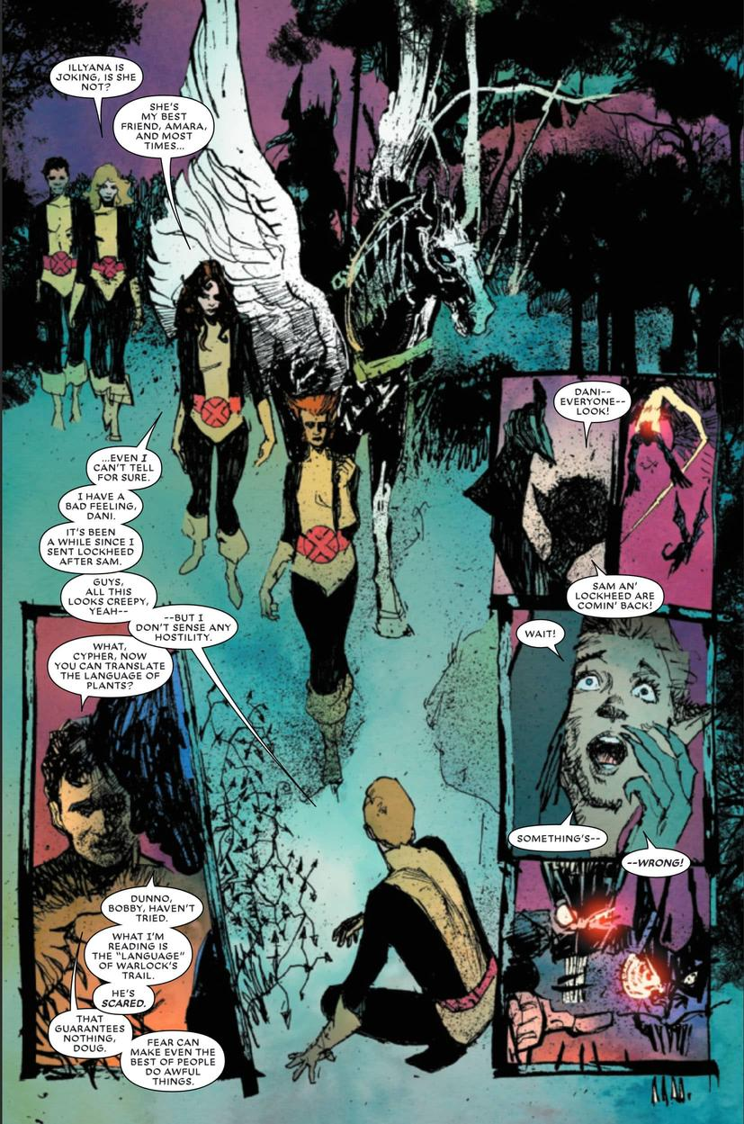 New Mutants War Children page