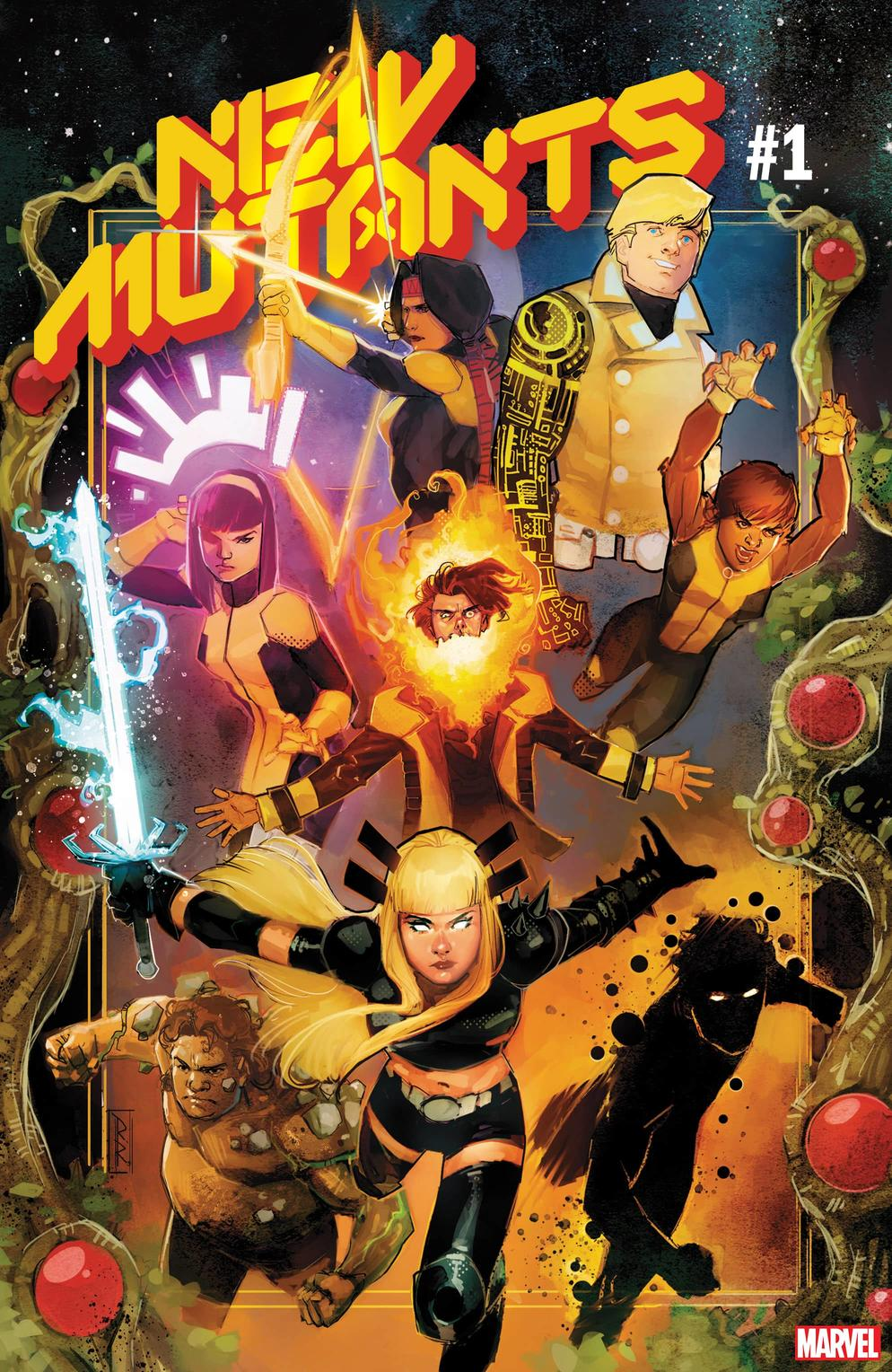 NEW MUTANTS #1 cover by Rod Reis