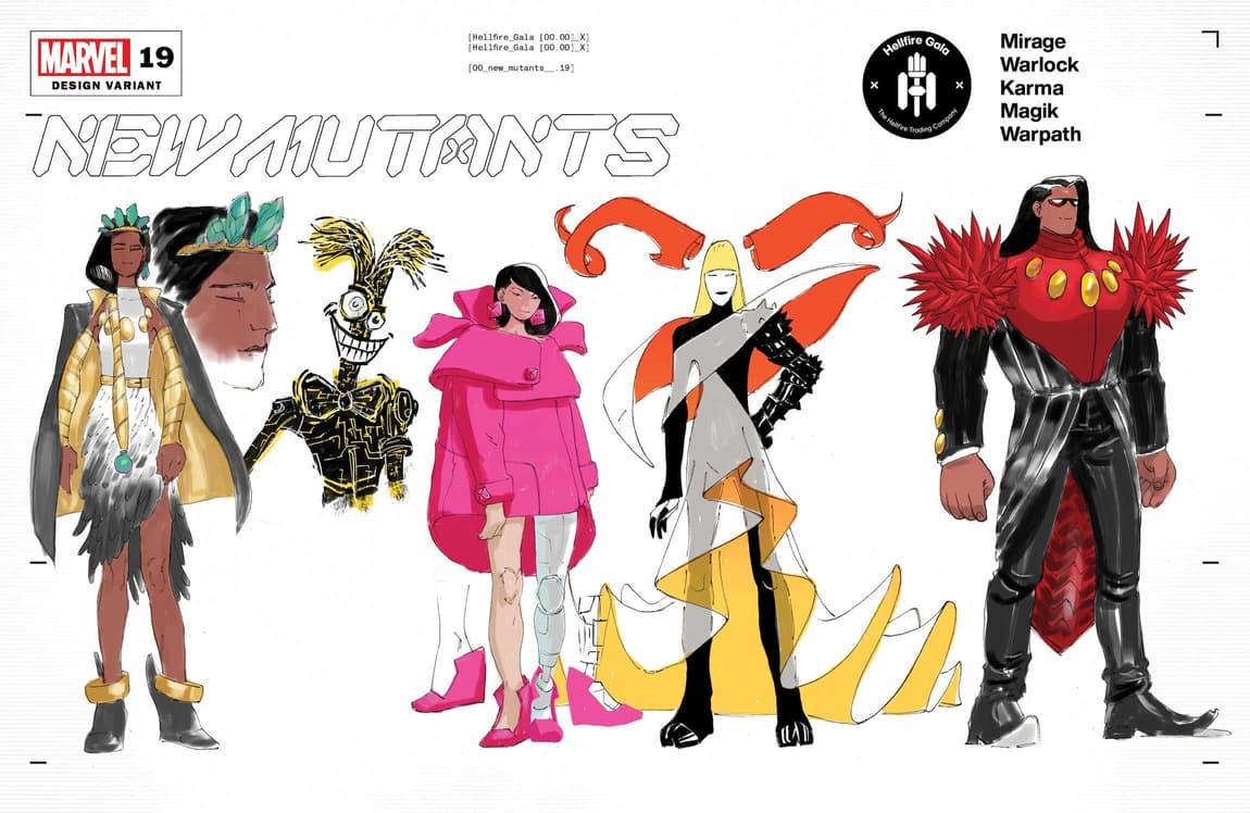 New Mutants design variant cover