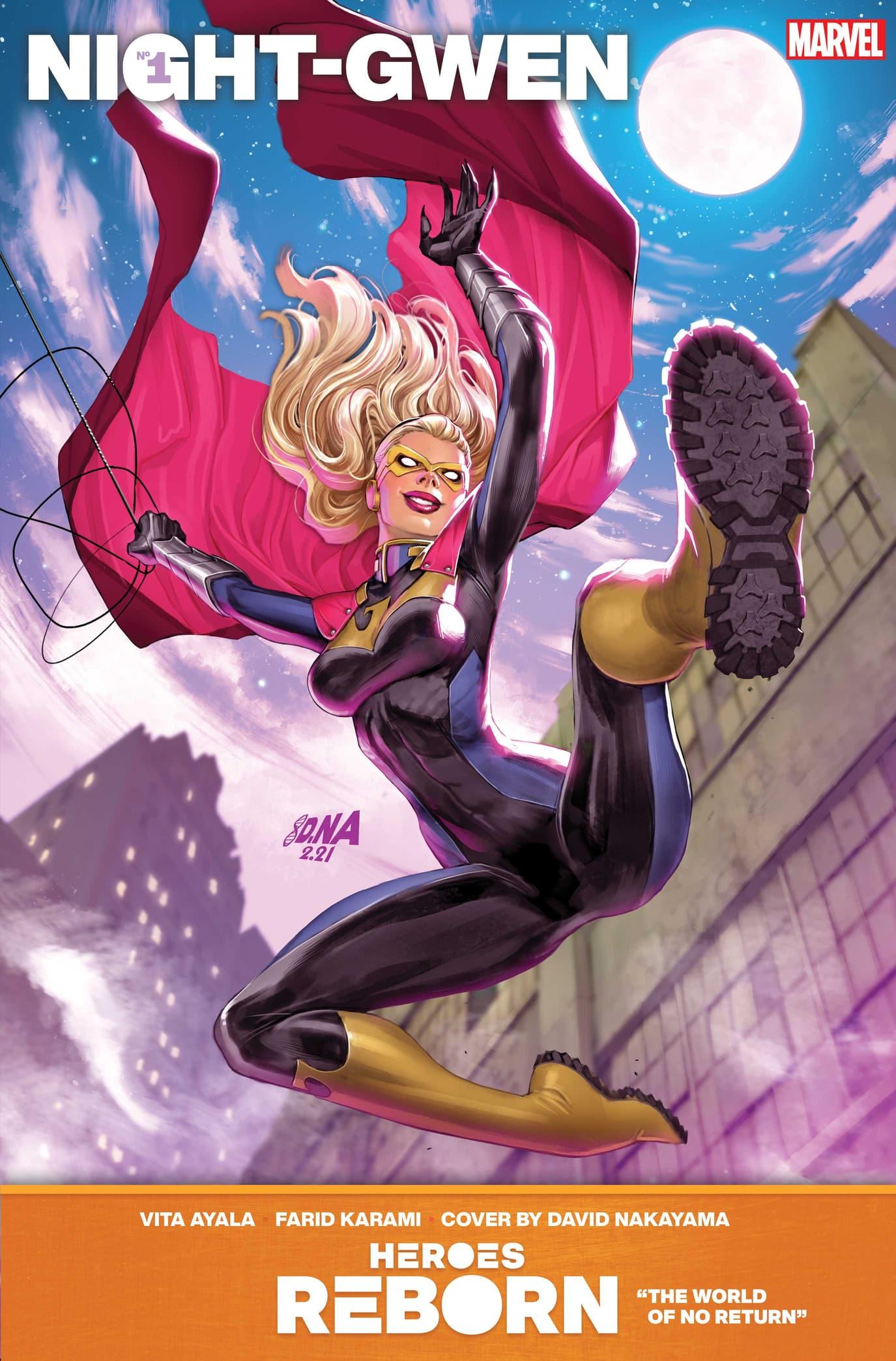 Heroes Reborn: Night-Gwen