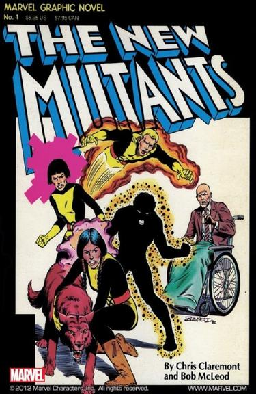 MARVEL GRAPHIC NOVEL #4 – THE NEW MUTANTS