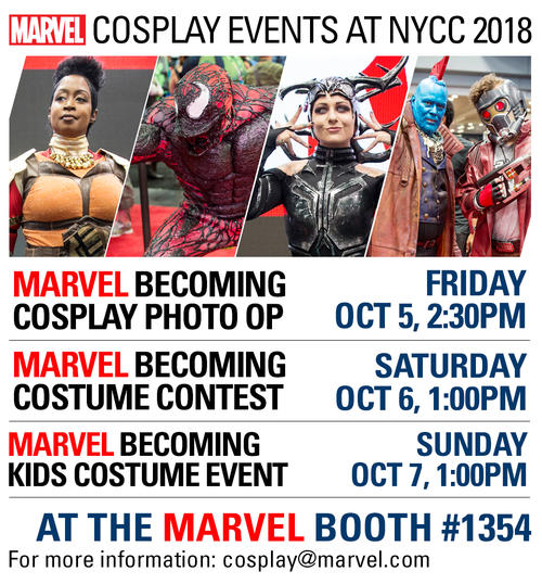 NYCC Marvel Cosplay