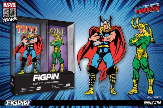 Thor & Loki FiGPiN 2-pack