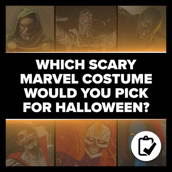 Marvel Insider Survey Which Scary Marvel Costume Would You Pick For Halloween?