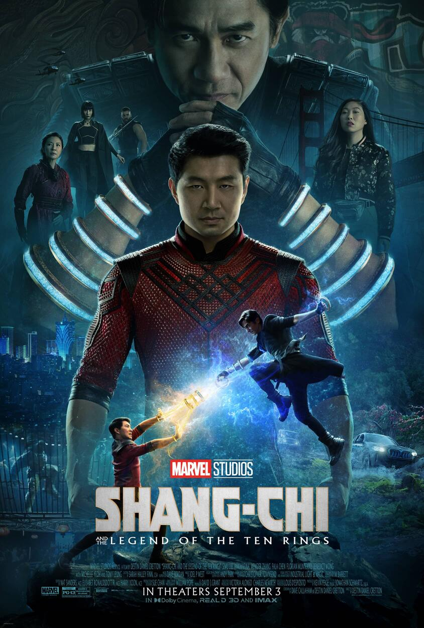 Marvel Studios' Shang-Chi and the Legend of the Ten Rings Poster