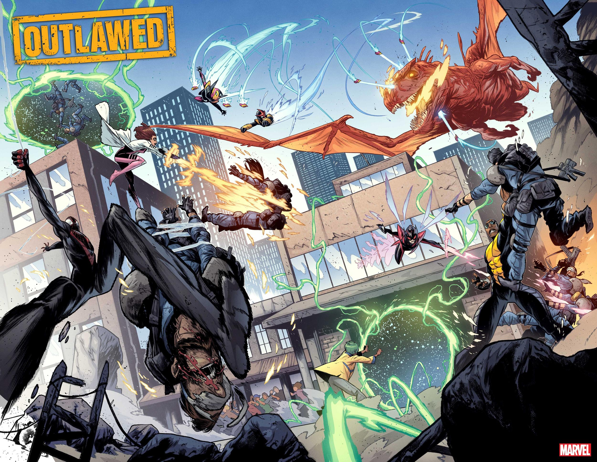 Outlawed splash page