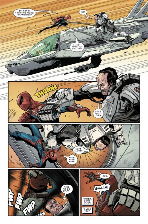 MARVEL'S SPIDER-MAN: THE BLACK CAT STRIKES #4 Preview — Art by Luca Maresca