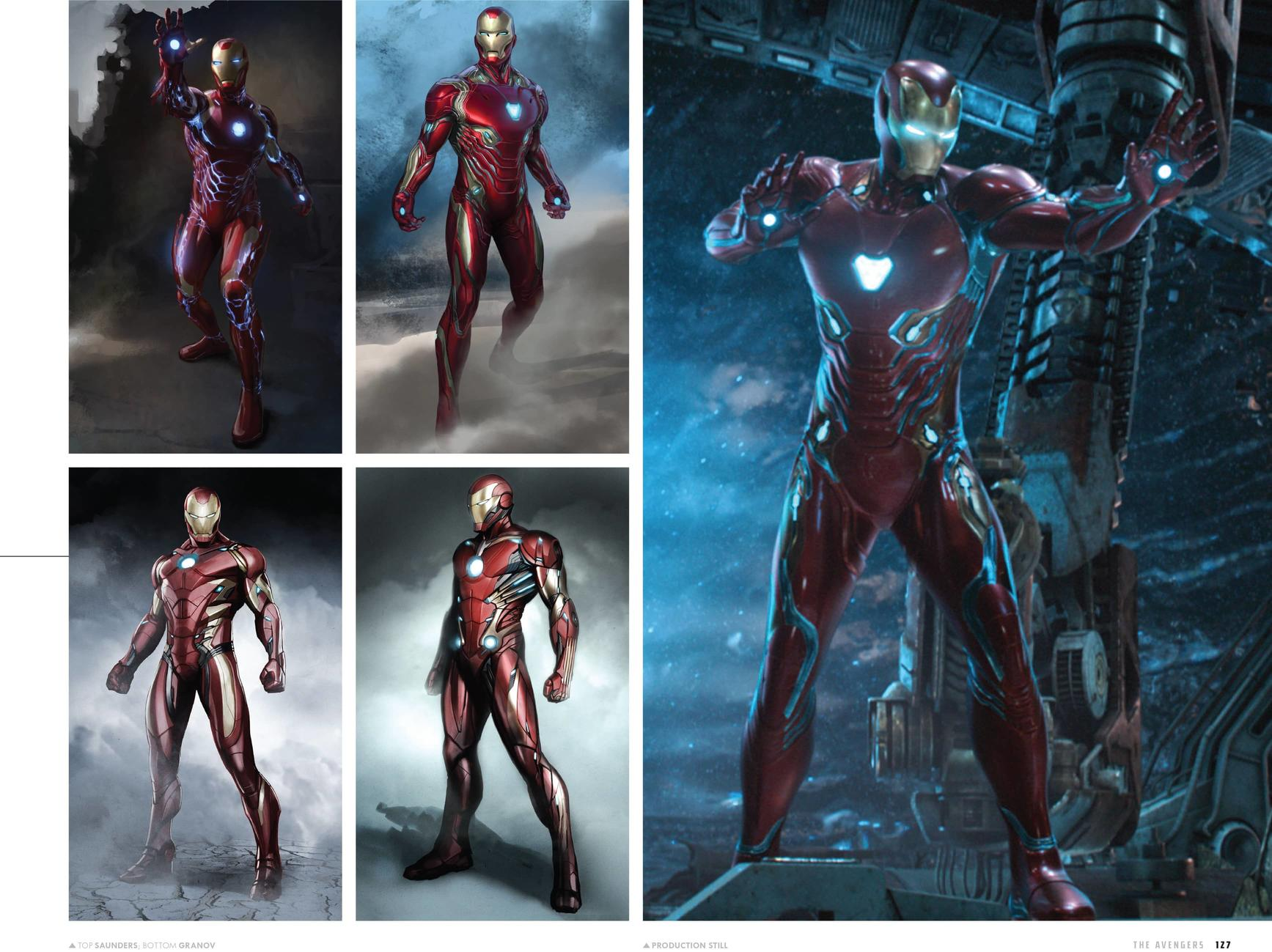 Iron Man - - The Art of the Marvel Cinematic Universe