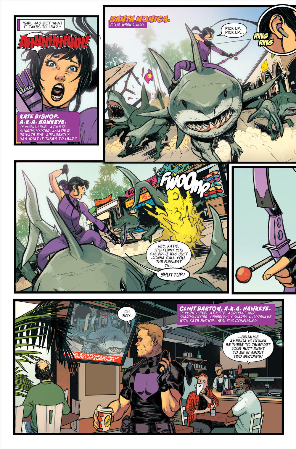 West Coast Avengers 1 preview page