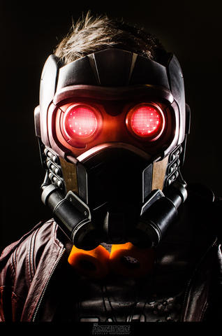 Paul Bortlein AKA Wardarkfox as Star-Lord