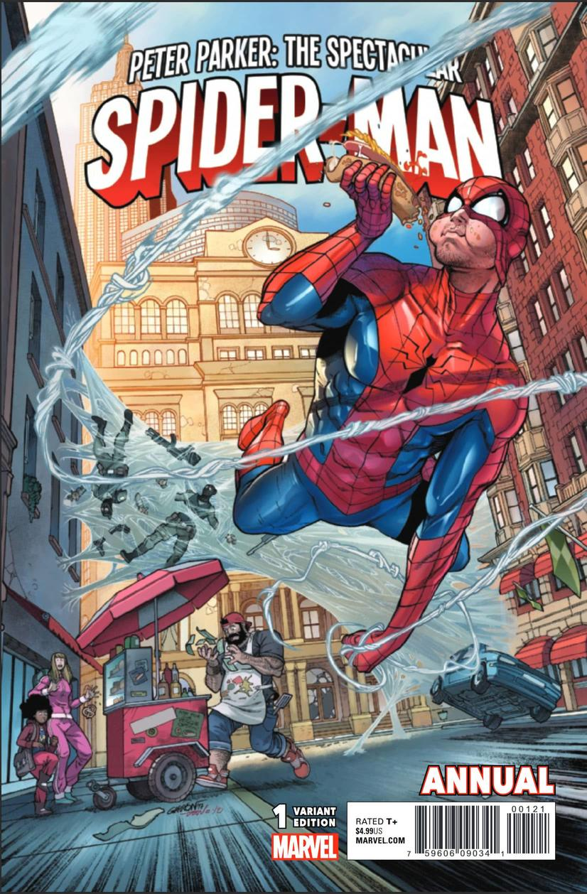 Peter Parker Spectacular Spider-Man Annual #1
