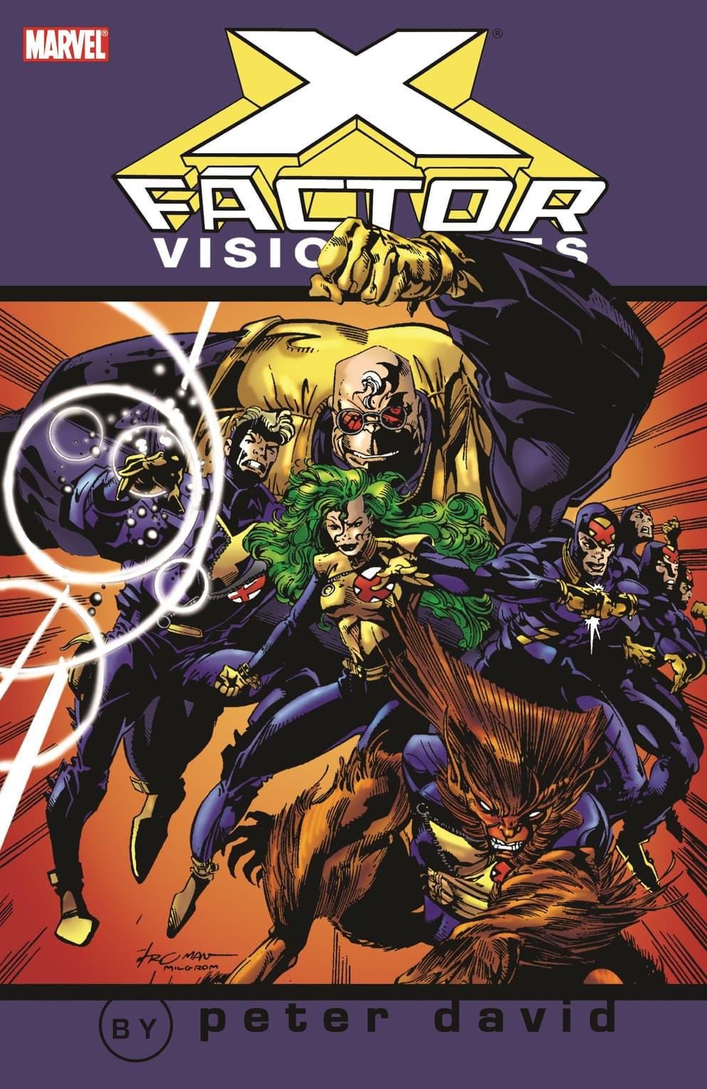 X-Factor Visionaries: Peter David Vol. 1