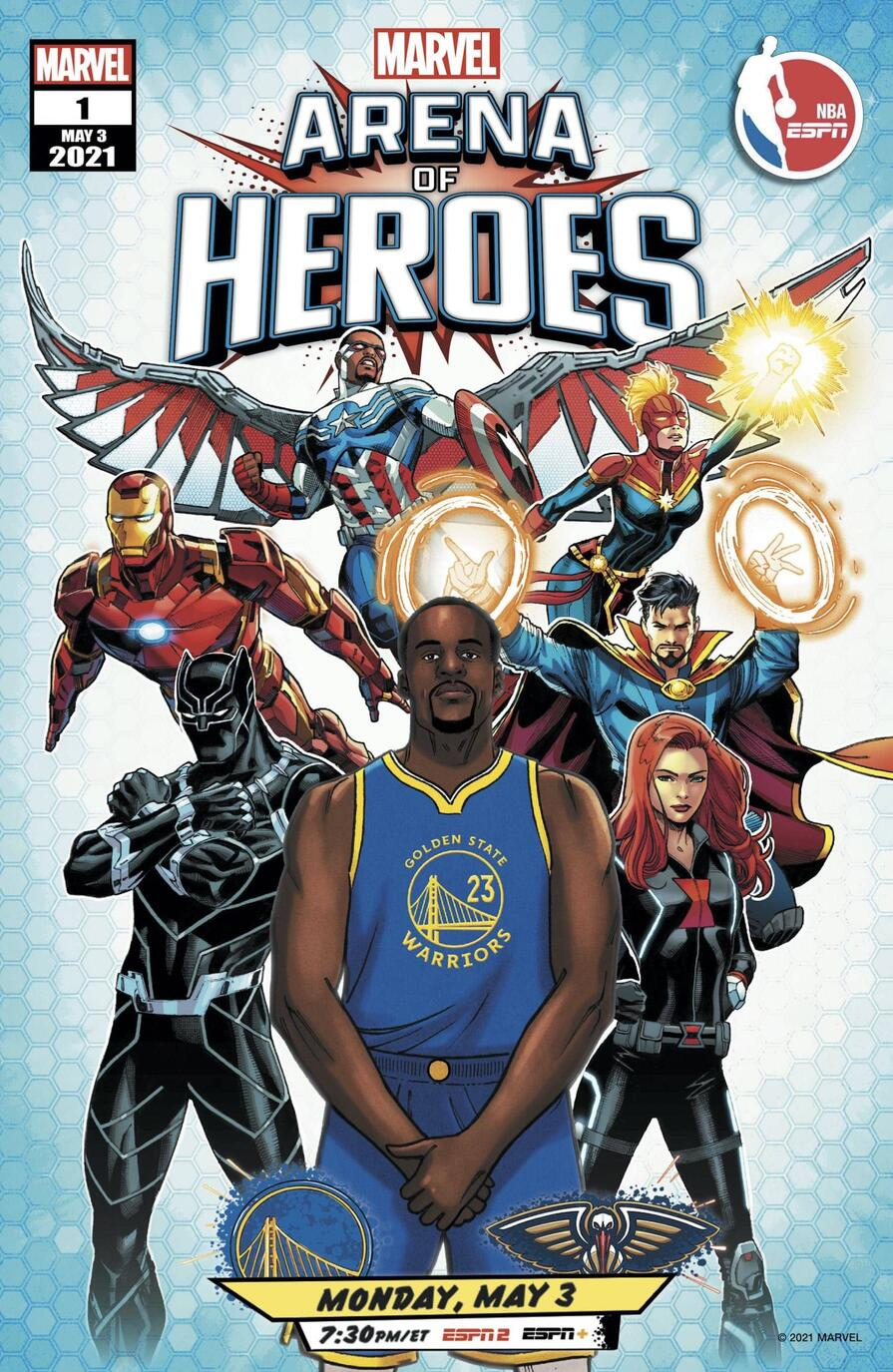 Draymond Green in the Arena of Heroes