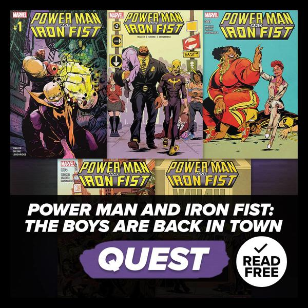 Marvel Insider Challenge Power Man and Iron Fist: The Boys Are Back In Town Reading Quest Read Free